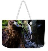 Hidden Falls Sombrio Beach 3 Weekender Tote Bag