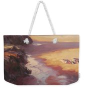 Hidden Path To The Sea Weekender Tote Bag by Steve Henderson