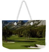 High Angle View Of A Golf Course, Mt Weekender Tote Bag