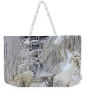 High Falls, Smaller Waterfall Weekender Tote Bag