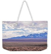 High Plains And Majestic Mountains Weekender Tote Bag