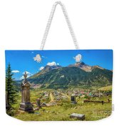 Hillside Cemetery Of Silverton Colorado Weekender Tote Bag