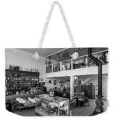 Hindsman General Store - Allensworth State Park - Black And White Weekender Tote Bag