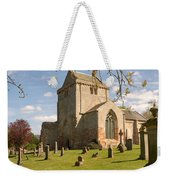 historic Crichton Church and graveyard in Scotland Weekender Tote Bag