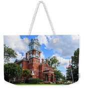Historic Gwinnett County Courthouse Weekender Tote Bag by Doug Camara