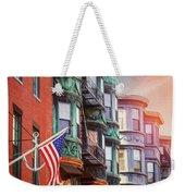 Historic North End Boston Massachusetts Weekender Tote Bag