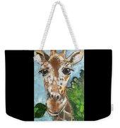 Hobbes Giraffe Weekender Tote Bag