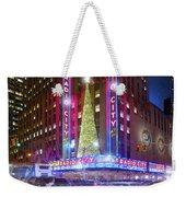 Holiday Season At Radio City Music Hall  Weekender Tote Bag