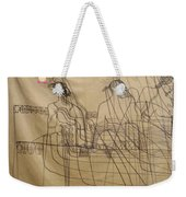 Holy Trinity And Our Lady Asia Weekender Tote Bag