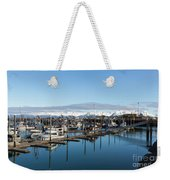 Homer Alaska Fishing Port Weekender Tote Bag