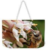 Honeybee Nectar Search Weekender Tote Bag by Brian Hale
