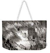 Hoodoo's Black White Utah  Weekender Tote Bag