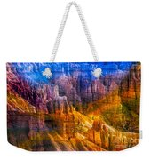 Hoodoo's Rainbow Color Mix Bryce Canyon  Weekender Tote Bag