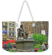 Horace Greelly, First President Of Typographic Union Of New York City Weekender Tote Bag