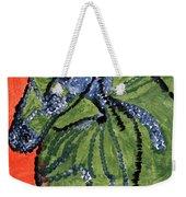 Horse On Orange And Green Weekender Tote Bag