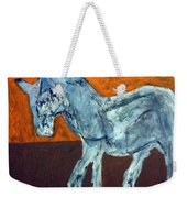 Horse On Orange Weekender Tote Bag