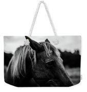 Horse Up-close Weekender Tote Bag