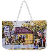 Hot Dogz Weekender Tote Bag
