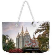 House Of The Lord Weekender Tote Bag