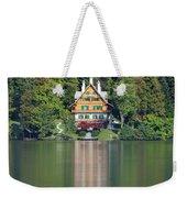 House On The Lake Weekender Tote Bag by Davor Zerjav