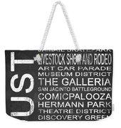 Houston Tx 6 Weekender Tote Bag