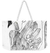 How The Camel Got His Hump Digital And Drawings D12-3 Weekender Tote Bag