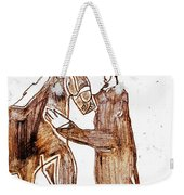 How The Camel Got His Hump Digital And Drawings D4-1 Weekender Tote Bag
