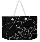 How The Leopard Got His Spots Dr14ed4 Weekender Tote Bag