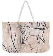 How The Leopard Got His Spots Dr23ed2 Weekender Tote Bag
