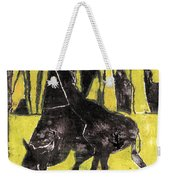 How The Leopard Got His Spots Oil Painting Otd3 Weekender Tote Bag