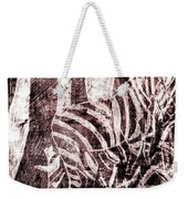 How The Leopard Got His Spots Zebra D16ed3 Weekender Tote Bag