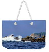Huatulco Lighthouse Weekender Tote Bag