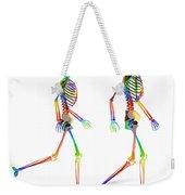 Human Skeleton Pair Weekender Tote Bag