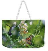 Hummingbird And Monarch Weekender Tote Bag