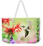 Hummingbird Fancy Weekender Tote Bag