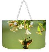 Hummingbird Hawk-moth Weekender Tote Bag