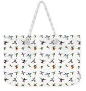 Hummingbirds Of Trinidad And Tobago On White Weekender Tote Bag