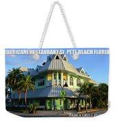 Hurricane Restaurant St. Pete Beach Weekender Tote Bag