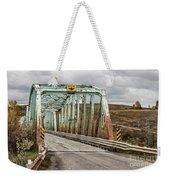 Hwy 552 Bridge Weekender Tote Bag