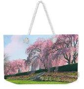 Weeping Spring Cherry  Weekender Tote Bag