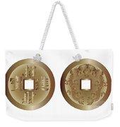 I Ching Coins Weekender Tote Bag