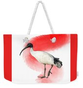 I Is For Ibis Weekender Tote Bag