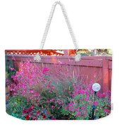 I Love My Flowers Weekender Tote Bag