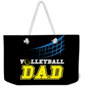 I Love Volleyball Team Player Ball Weekender Tote Bag