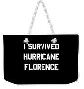 I Survived Hurricane Florence Weekender Tote Bag
