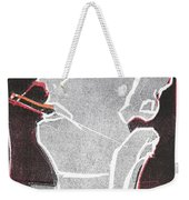I Was Born In A Mine Woodcut 11 Weekender Tote Bag