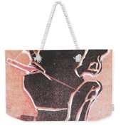 I Was Born In A Mine Woodcut 12 Weekender Tote Bag