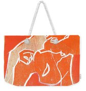 I Was Born In A Mine Woodcut 19 Weekender Tote Bag