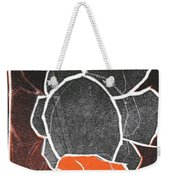 I Was Born In A Mine Woodcut 24 Weekender Tote Bag