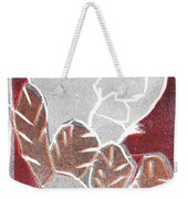 I Was Born In A Mine Woodcut 37 Weekender Tote Bag